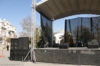Аренда сцены для проведения концертов в Евпатории