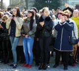 Зрители концерта - около пяти тысяч человек